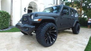 Custom Jeep Wrangler for Vitor Belfort